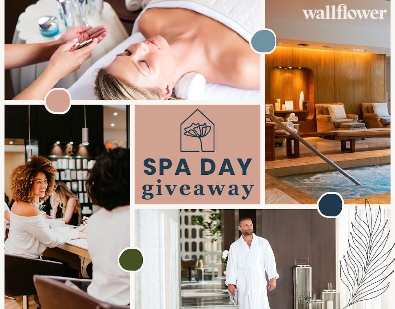 Wallflower Cannabis House Is Giving Away A Spa Day!